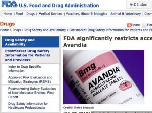FDA Avandia 300x222 FDA Slaps Major Restrictions onto Avandia