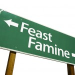 feast famine 150x1501 A Closer Look At What Really Is A Disheartening Pattern…Medicine Itself.…as revealed by a recent LA Times article…  Part 1 of 2