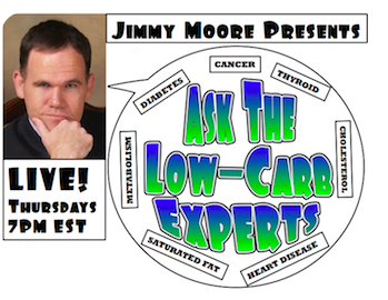 jimmy moore ask the expert Leptin.  Live call in pod cast with Jimmy Moore